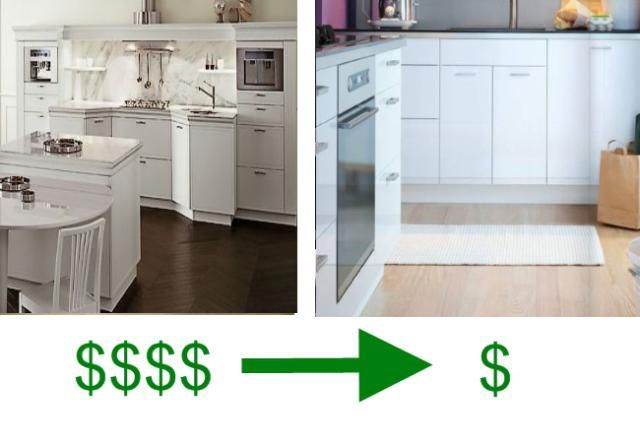 Snaidero Cabinets Cost Too Much. Here Are Your IKEA Equivalents.: European Kitchen Cabinets: White Cabinets