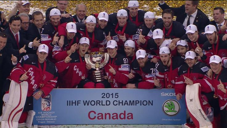 Canada wins the 2015 IIHF World CHampionship, defeating Russia 6-1   5/17/15
