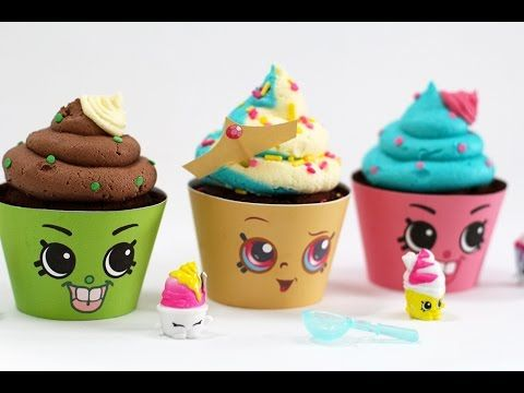 Shopkins Cupcakes! Queen Cupcake & Cupcake Chic | My Cupcake Addiction - YouTube
