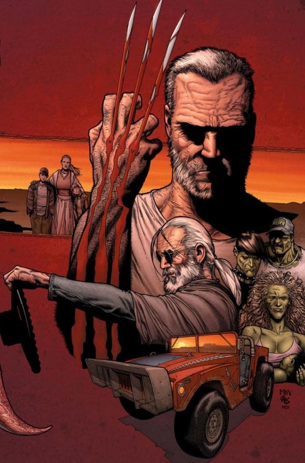 Wolverine: Old Man Logan #PunisherApproved #WolverineWednesday