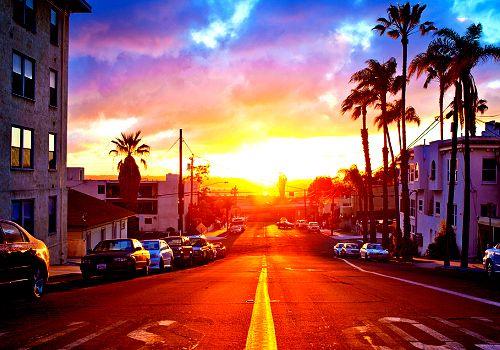 sunset strip.