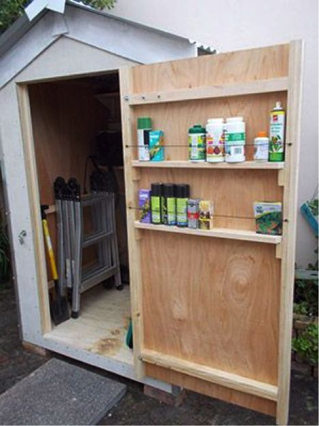 Image result for shed organization