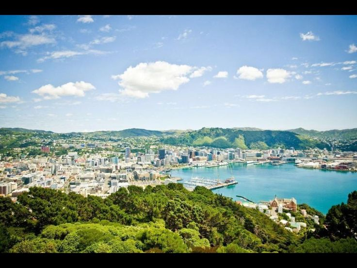 Wellington...the best city in NZ :)