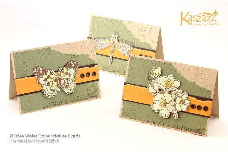 2H0546 Water Colour Nature Cards