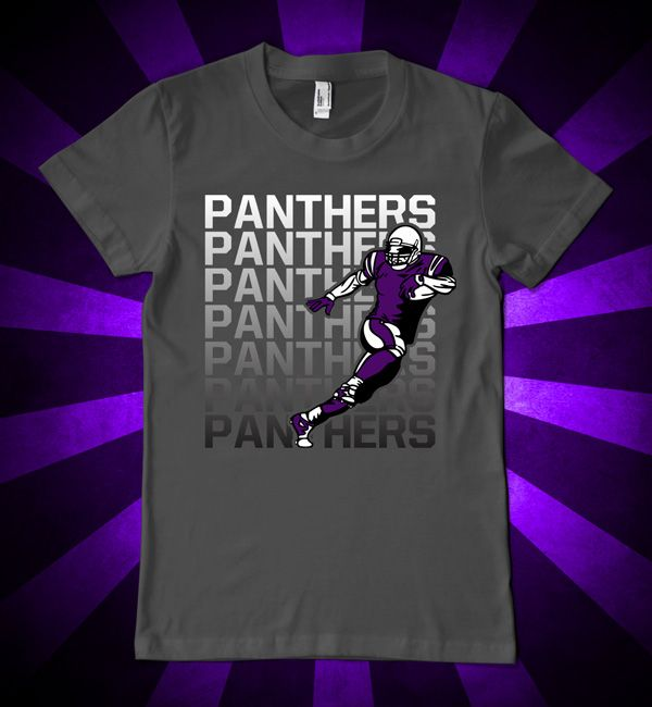 UNI Panthers football t-shirt perfect for game day