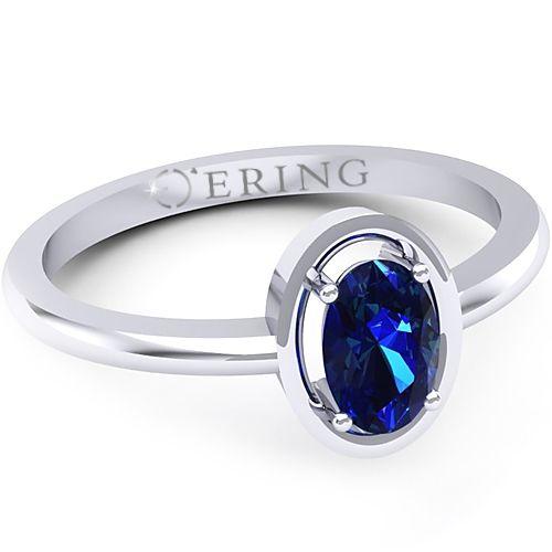 Inel logodna L16ASF inel cu safir