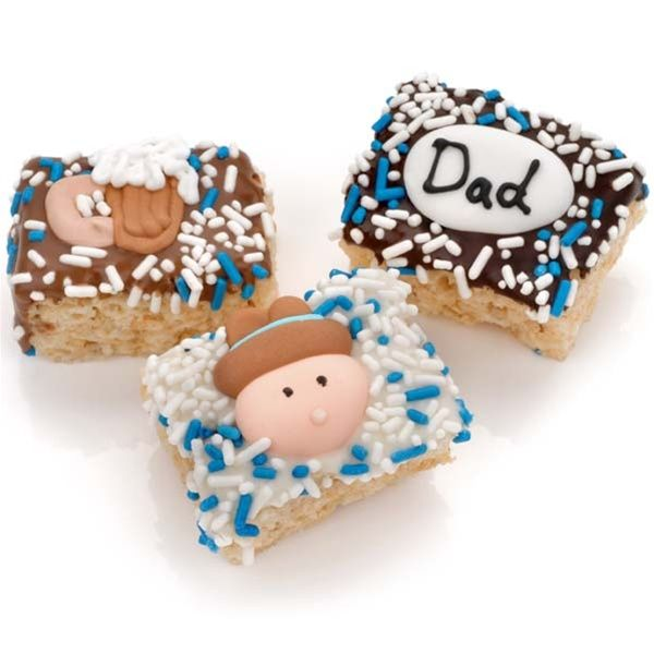 "http://www.ladyfortunes.com/Fathers-Day-Chocolate-Dipped-Mini-Crispy-Rice-Bars-Individually-Wrapped-P559.aspx -- Chocolate Covered Crispy Rice Bites are made fresh to order. It has extra marshmallow to make these treats extra yummy. Order some for Dad this year! We guarantee these sticky sweets won't ""stick"" around very long!"