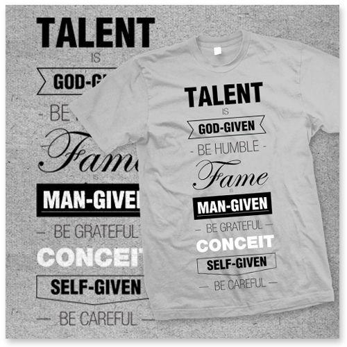 "Tshirt ""A Talent"" – HAKUNA MATATA"