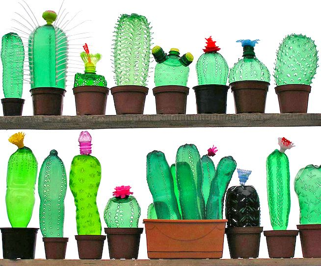Artist Veronika Richterová recycles plastic bottles into beautiful plant and animal sculptures | Inhabitat - Sustainable Design Innovation, Eco Architecture, Green Building