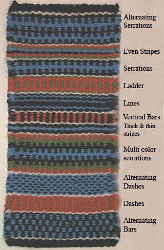 peg loom weaving weaves patterns