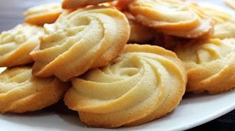 BUTTER SWIRL SHORTBREAD COOKIES - Christmas and Holiday Baking - YouTube