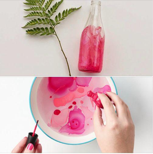 DIY | Marble Dipped Vase