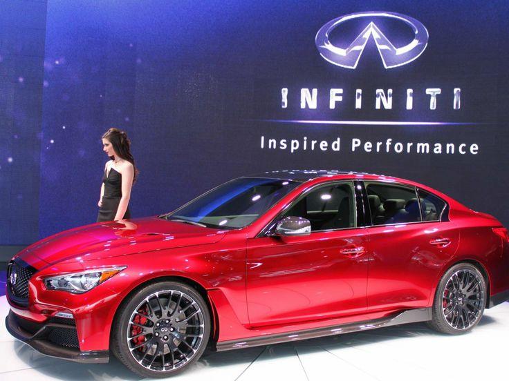 infiniti q50 eau rouge concept detroit auto show 2014 #Infiniti #Q50 #Rvinyl ============================= http://www.rvinyl.com/Infiniti-Accessories.html