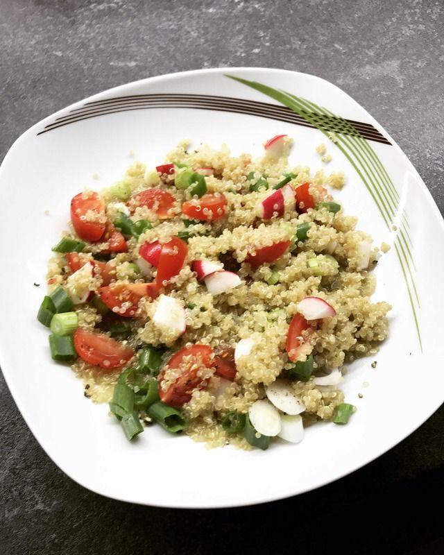 Quinoa s čerstvou zeleninkou