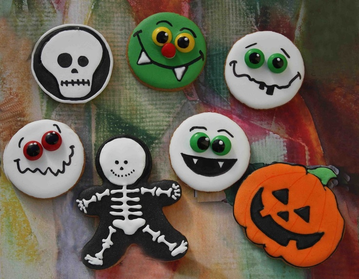 19 best Galletas Halloween images by Rebeca Cortes on Pinterest
