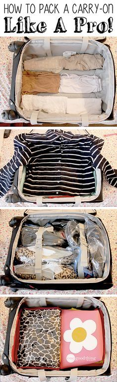 If you travel often, you don't want to miss these handy tips for packing a carry-on effectively :-)