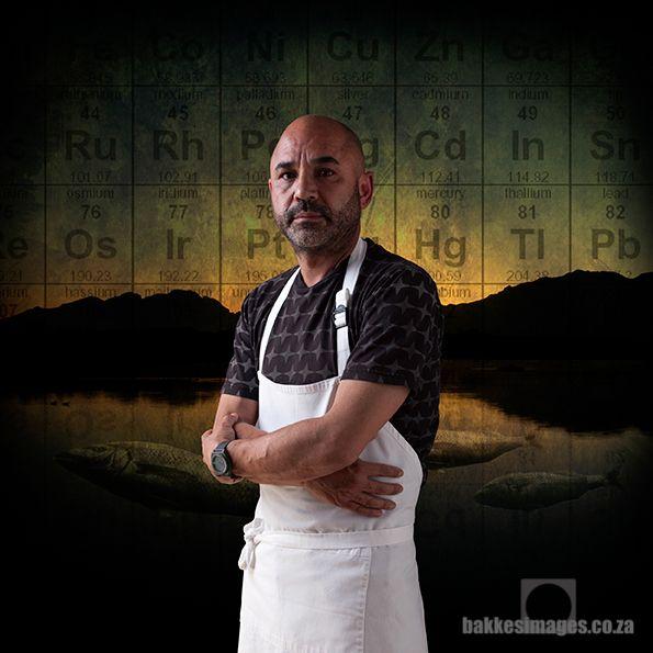 Chef Richard Carstens of Tokara Restaurant.