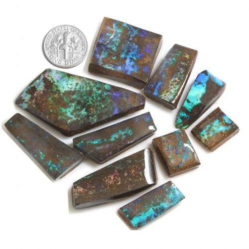rough opal as rubs total pieces ten which can be bought separately as noted