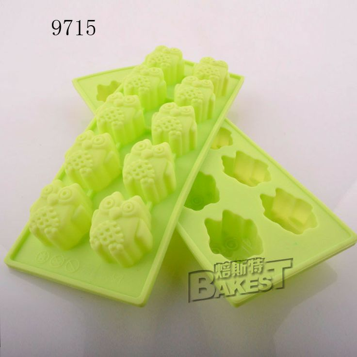 309 р 1pcs green ilicone chocolate mould ( owl)/cake silicone mold #9715-in Cake Molds from Home & Garden on Aliexpress.com