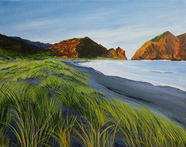 #blacksand #beach #grasses