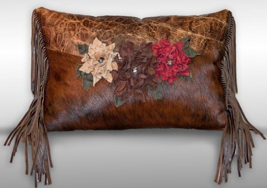 8 best Western Pillows images on Pinterest | Leather ...