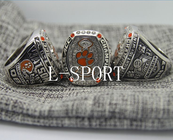 2015-2016 Clemson Tigers ACC Football National championship ring 8-14S choose for WATSON