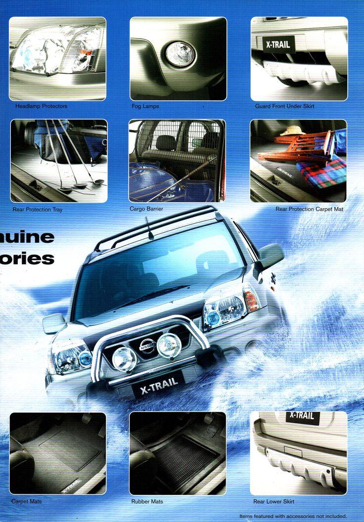 https://flic.kr/p/214aodo   2003 Nissan X-Trail ST Ti Genuine Accessories Australian Brochure Page 3