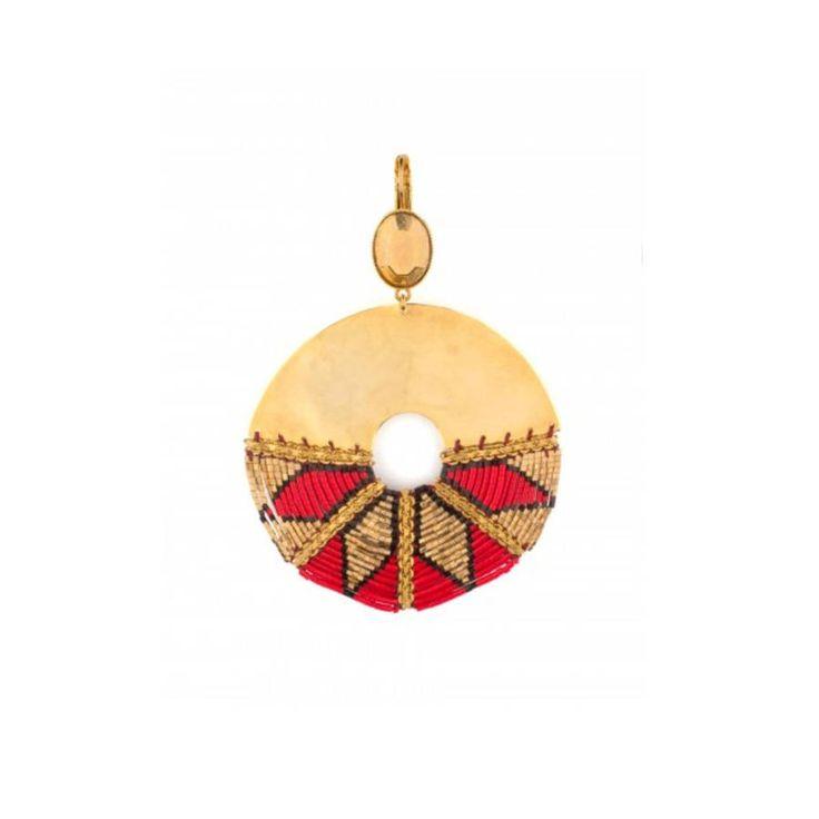 Grosse boucle d'oreille Satellite / 31 grosses boucles d'oreilles qui ne passent pas inaperçues / earrings / bijoux / jewelry