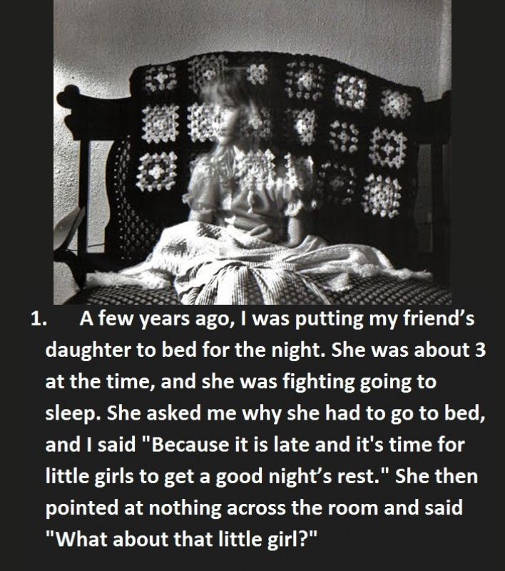 "15 Creepy Things Babysitters Heard From Kids - The one about the ""lady with the braid"" CREEPED me out!"
