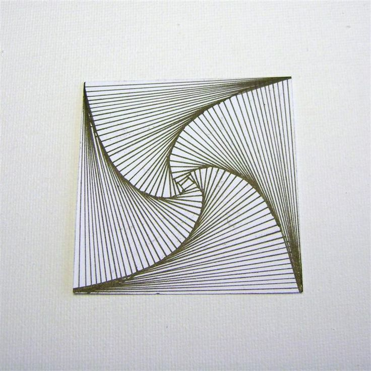 """zentangle """"paradox"""" Great example of how to end the pattern so the center of the tangle looks right"""