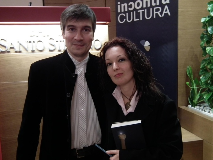 Alberto Toso Fei, a great italian novelist, and me