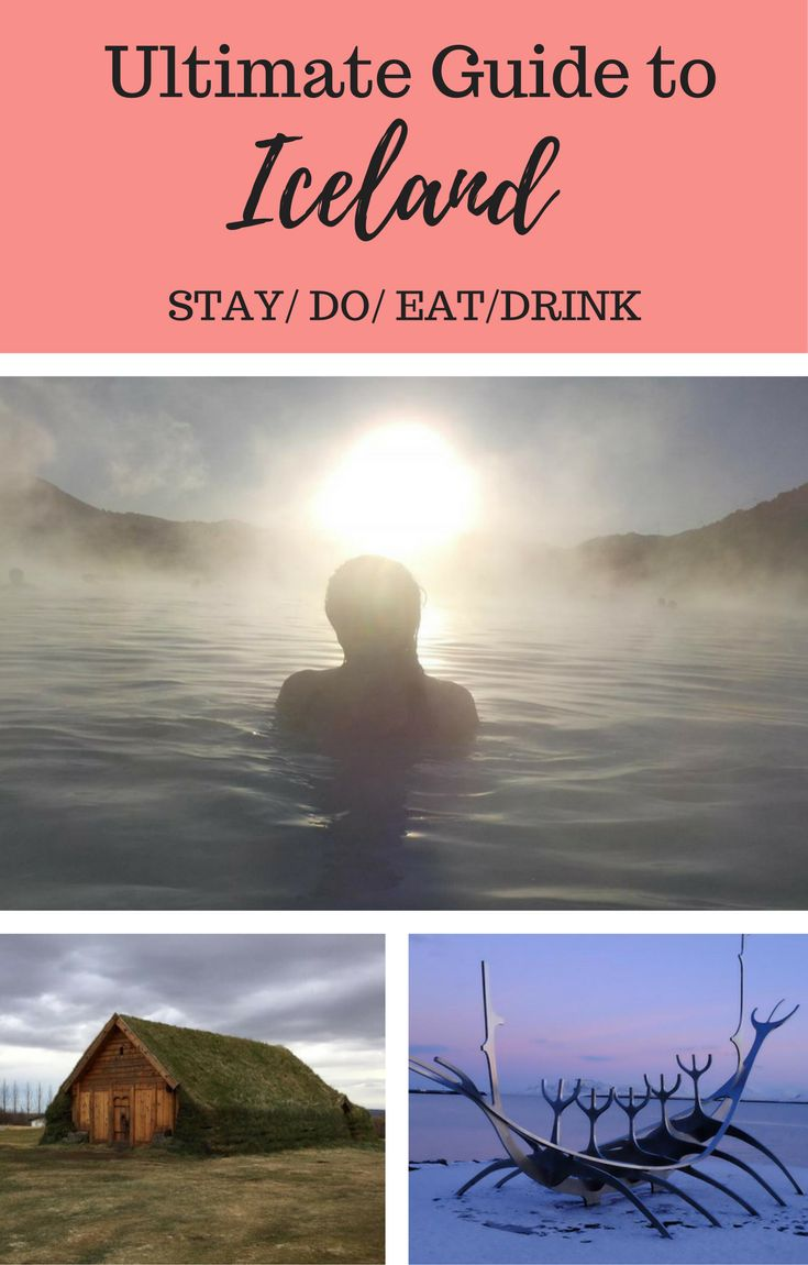 Ultimate Travel Guide to Iceland. Top places to stay in Reykjavik, includes printable food and drink for Reykjavik. Top things to do in Iceland on your first visit.
