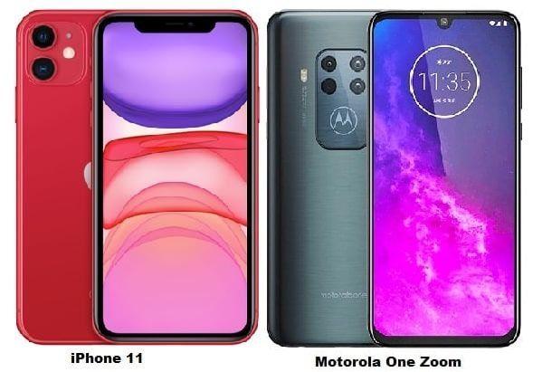 Iphone 11 Vs Motorola One Zoom Specs Comparison Motorola Iphone Spatial Audio