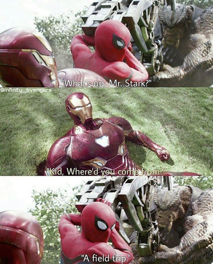 Spiderman & Iron Man Avengers Infinity War – Lotte Bernsen