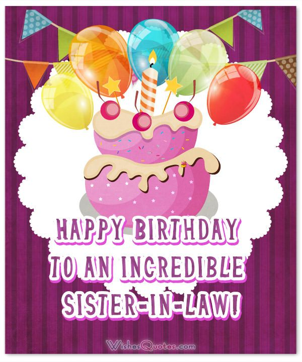 Happy Birthday Sister In Law Happy Birthday My Dear Sister In