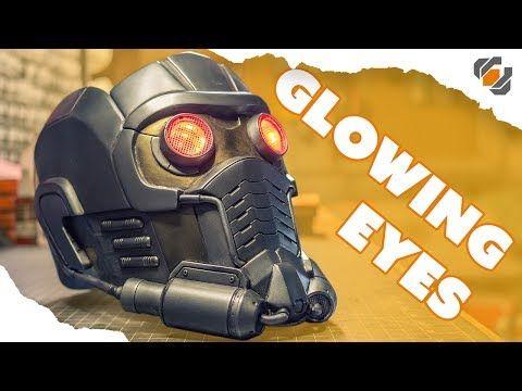 24) Cosplay GLOWING EYES - Star-Lord Helmet Kit Part 4