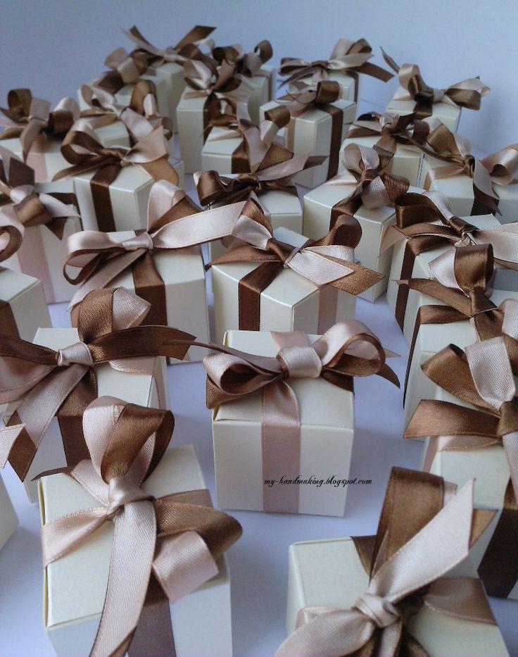 Бонбоньерки-коробочки
