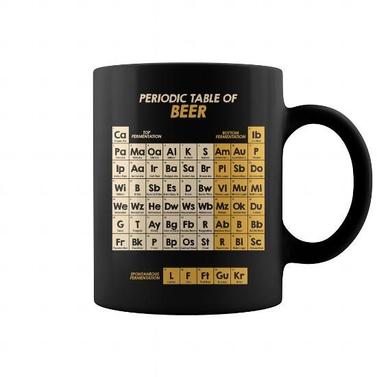 dbcd6d1d158 Periodic Table Of Beer Mug | Mug in 2019 | Mugs, Coffee mugs ...