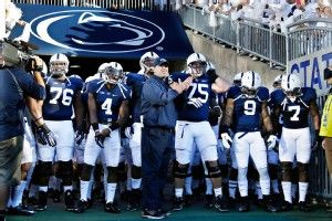 It has recently been announced that the NCAA's sanctions against Penn State for the Jerry Sandusky have been reduced. This is give back most of Penn State's scholarships. This is a step in the right direction for Penn State and who knows maybe soon enough they will get their bowl eligibility back. I find this interesting because this very well could change my Penn State football experience as a current student.