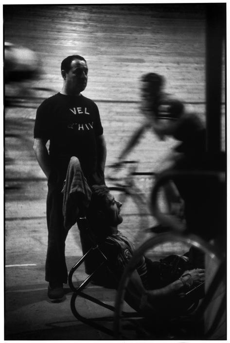 Henri Cartier-Bresson, Vélodrome d'hiver, Paris, France, 1957. © Henri Cartier-Bresson/Magnum Photos.