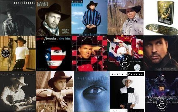 Garth Brooks....Albums! I love them all.