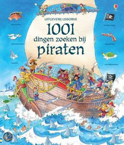 1001 dingen zoeken bij Piraten