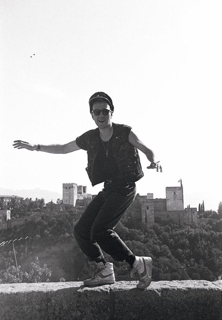 """"""" Joe Strummer in Granada - 1984 """""""