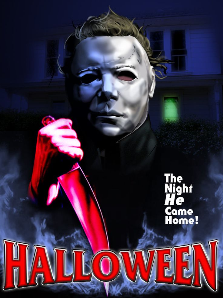 wanted to do something for halloween so heres a poster using the of michael myers i did putting my spin on a movie poster