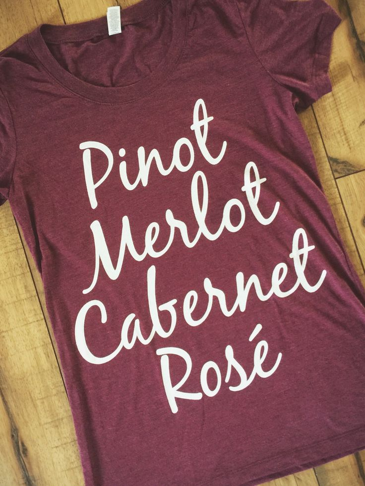 Wine List Women's Tee