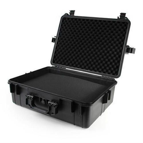 """Equipment Case 22"""" Black Tactical Weatherproof Medical Reloading Camera Supplies #MCMElectronics"""
