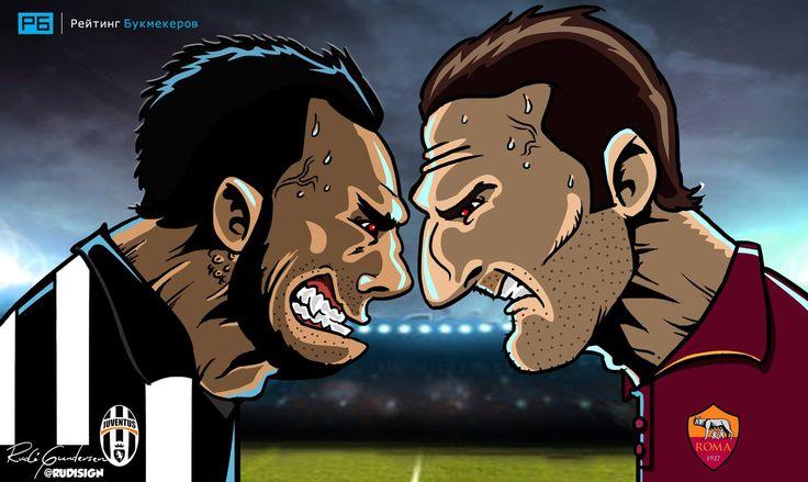 Вспоминаем матч #ЮвентусРома. Вот это игра была!