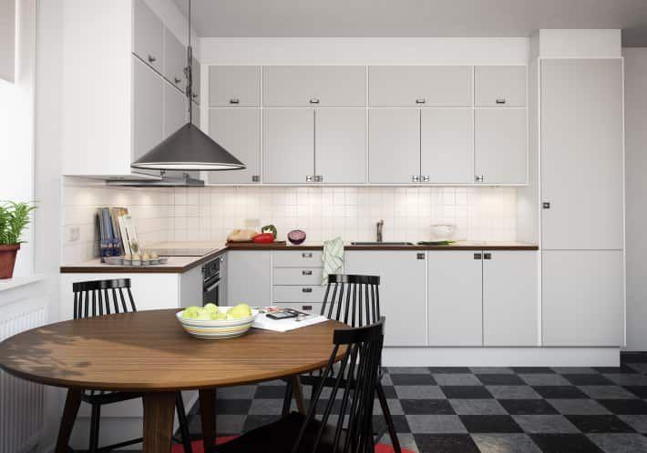 Sentens kök 2014 - KUST DESIGN RETRO LJUSGRÅ 2 - Electrolux Home