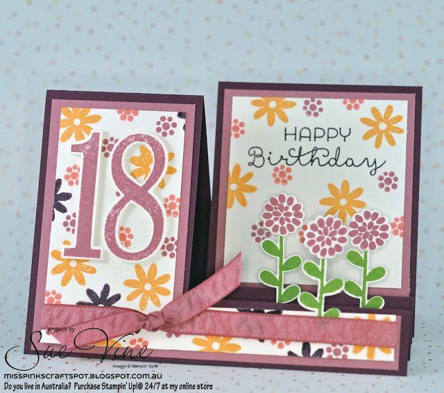 Miss Pinks Craft Spot: Funky Flower Patch