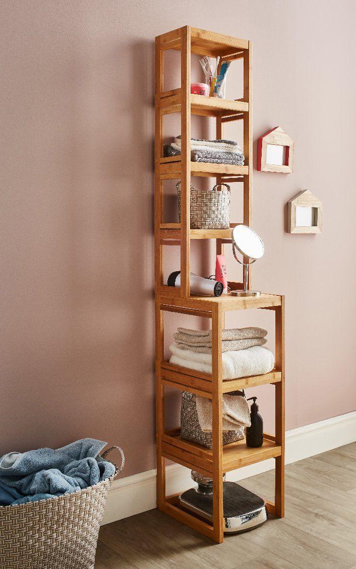 Les 25 meilleures id es de la cat gorie salle de bain en bambou sur pinterest salle de bain for Echelle bambou salle de bain alinea